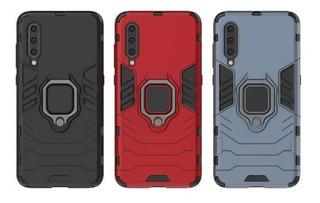 Funda Uso Rudo Anillo Xiaomi Redmi Y Mi Varios Modelos +mica