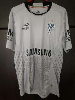 Camiseta Arquero Vélez Sarsfield Nueva Gris Con Número 1