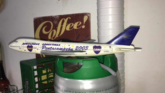 Boca Jrs. -avión Pentacampeón 2003 A/a -colección- Fútbol !!