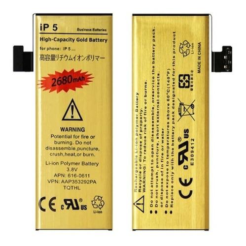 Batería Premium Larga Duración iPhone 5  De 2680mah+obsequio