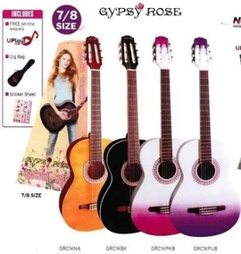 Guitarra Criolla Gypsy Rose Funda Soundgroup Palermo.