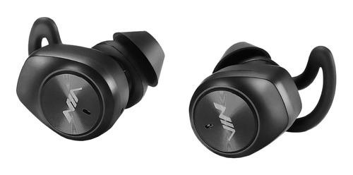 Imagen 1 de 4 de Auriculares in-ear inalámbricos NIA NB710 negro