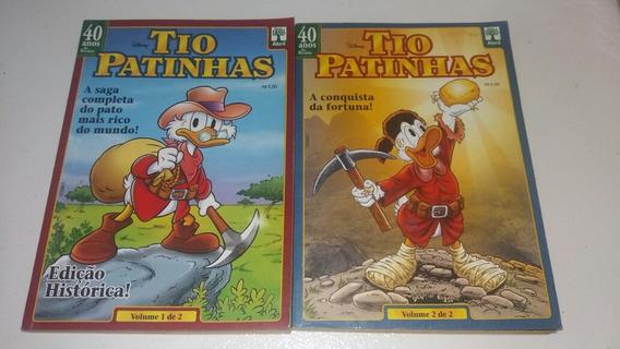 Tio Patinhas A Saga Completa Edição Histórica Ano 2003 * B4