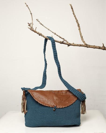 Cartera Tejida Al Crochet Acacia