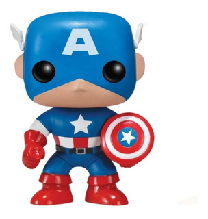 Figura Muñeco Funko Pop Marvel Capitan America 06