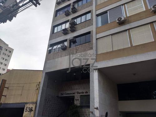 Imagem 1 de 10 de Sala Comercial À Venda, Largo Do Pará, 81 M² Por R$ 260.000 - Centro - Campinas/sp - Sa0045