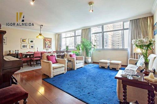 Imagem 1 de 19 de Apartamento Com 3 Dormitórios À Venda, 172 M² Por R$ 1.700.000,00 - Jardim Paulista - São Paulo/sp - Ap47871