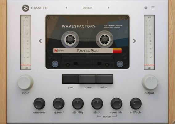 Plugin: Wavesfactory Cassette V1.0 Win & Macosx