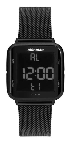 Relógio Mormaii Unissex Preto Quadrado - Mo6600ag/8p