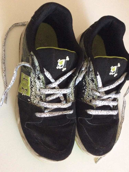 Zapatillas Dc Originales Niños Us 6 25 Cm Usadas