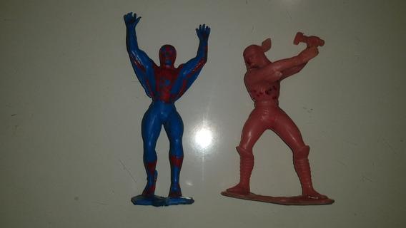 Figuras Bootleg Super Heroes Marvel Dc Thor Spiderman