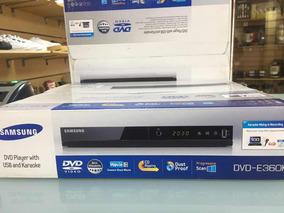 Dvd Reproductor Samsung Cd Kareoke Mp3 E-360k Nuevo