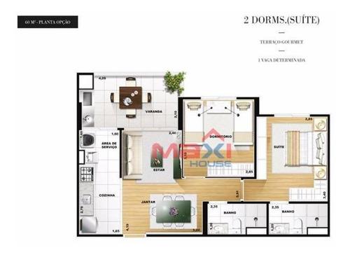 Apartamento Pronto Para Morar No Splendor Centro De Osasco - Ap0702