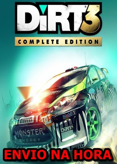Dirt 3 Complete Edition Pc - 100% Original (steam Key)