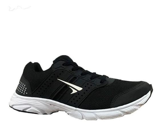 Tenis Marathon Tamanho Especial Do 42 Ao 46 Preto