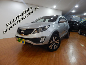 Kia Sportage 2.0 Ex2 4x2 16v Flex 4p Aut Top C/ Teto Duplo