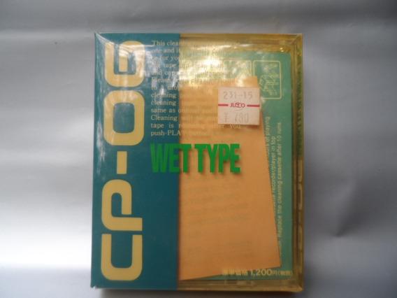 Limpa Fita K-7 Clean Cp-06 Wet Type Na Embalagem
