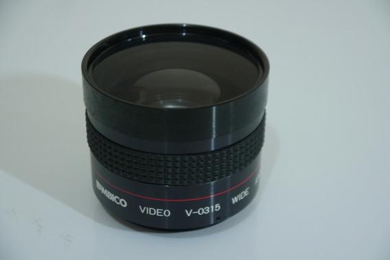 Lente Ambico V-0315 Grande Angular 0,6x Rosca 46mm