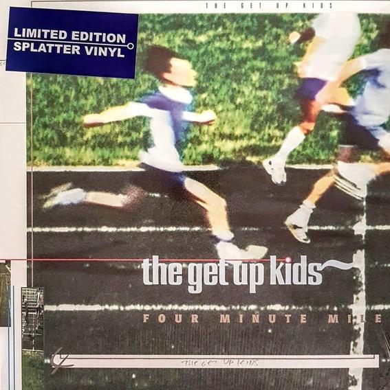 Lp The Get Up Kids - Four Minute Mile - Splatter Vinyl Novo