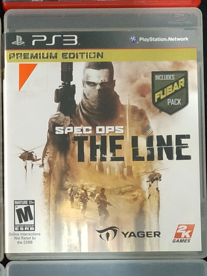 Jogo Spec Ops: The Line Ps3