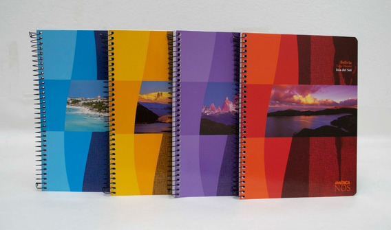 10 Cuaderno Universitario Avon Oficio A4 84hs Rayado