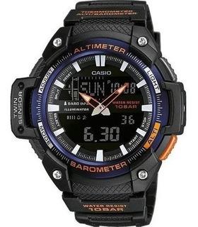 Reloj Casio Sgw-450h Altimetro - Barometro - Temperatura