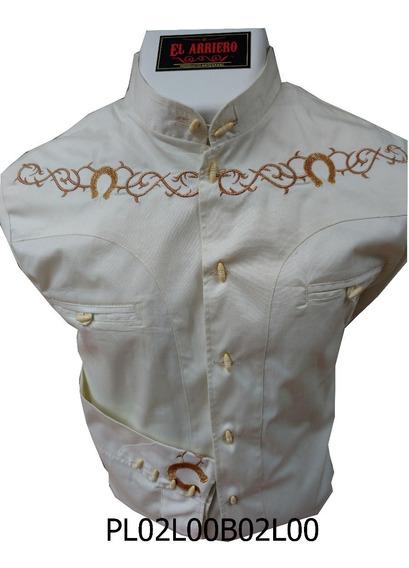 Camisa Charra / Pachuqueña, Excelente Calidad Algodón 100%