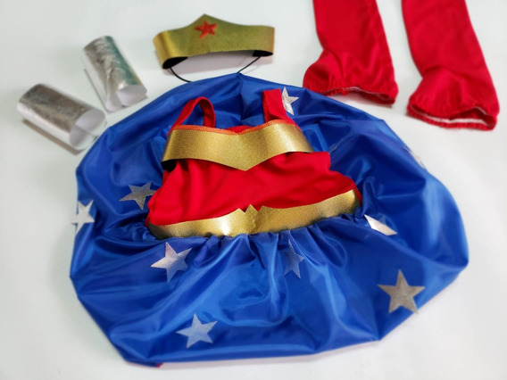 Disfraz Mujer Maravilla Wonder Woman Niña