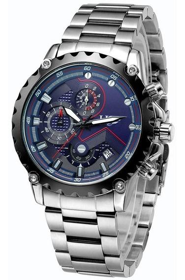Reloj Cronografo Importado Hombre Lige Original