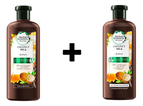 Combo Shampoo Y Acondicionador Herbal Essences Bío:renew Coc