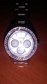 Relógio Feminino Riley Fossil Prateado
