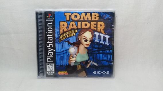 Tomb Raider 3 Ps1 Original Completo Usado
