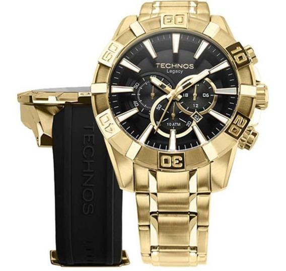 Relógio Technos Os2aajac/4p Legacy Masculino Troca Pulseira
