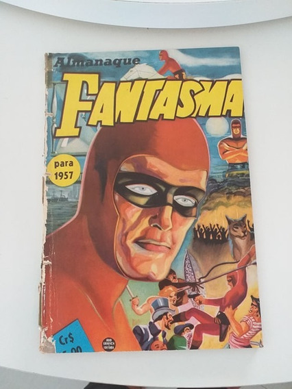Almanaque Do Fantasma 1957 (frete Gratis)