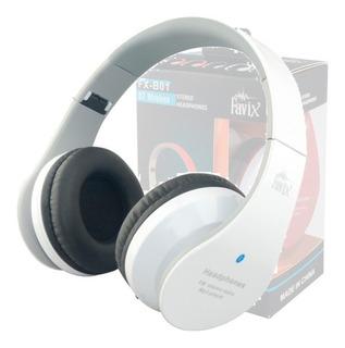 Fone Ouvido Favix B01 Sem Fio Bluetooth Fm Entrada Cartão P2