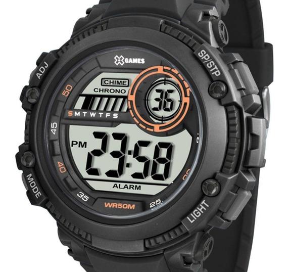 Relógio Masculino X-games Anadigi Xmppd520 Bxpx Preto + Nota