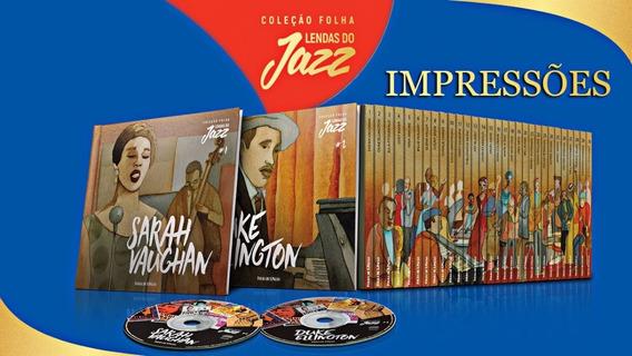 Coleção Folha - Lendas Do Jazz (leia A Descrição).