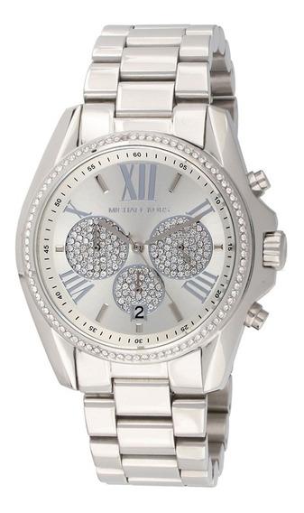 Reloj Michael Kors Mk6537 Bradshaw Crystal Stainless Steel