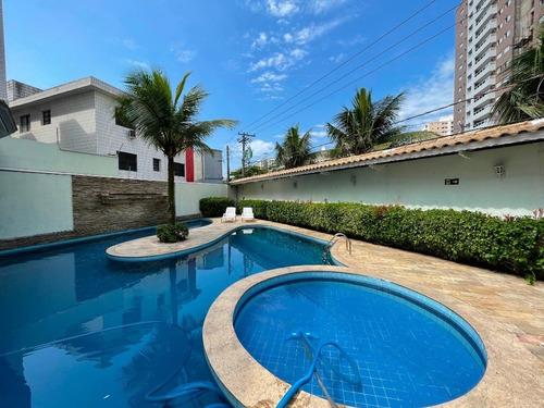 Imagem 1 de 30 de Sobrado Triplex Em Condomínio Fechado Com 3 Dormitórios À Venda, 132 M² Por R$ 650.000 - Canto Do Forte - Praia Grande/sp - So0404