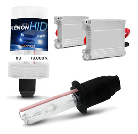 Kit Xenon H3 10000k Azul Violeta 35w Completo