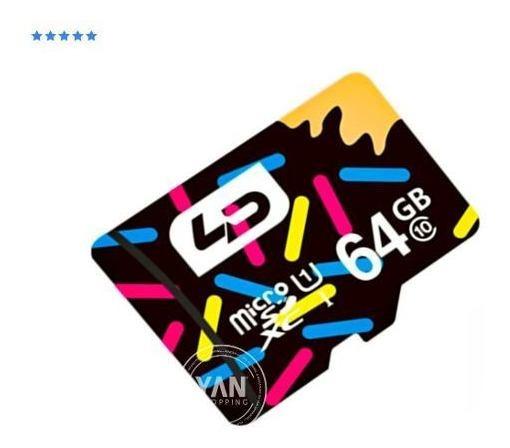 02 Cartão De Memória Microsdhc Smartcard 3.0 64gb Classe 1