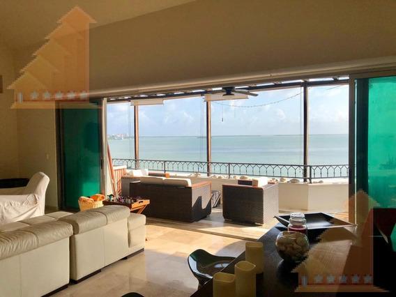 Espectacular Ph De Lujo En Venta Isla Dorada Zona Hotelera Cancun