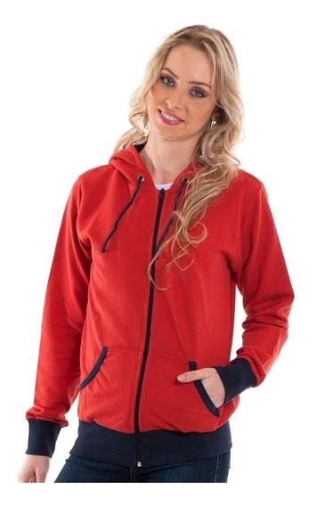 Jaqueta Feminina Vermelha 85002