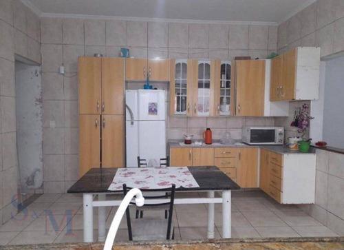 Imagem 1 de 5 de Casa Com 2 Dormitórios À Venda, 90 M² Por R$ 415.000,00 - Jardim Ana Maria - Santo André/sp - Ca0930