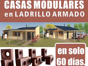 Casas Prefabricadas Ladrillo Ecoblock Llave En Mano Bps Incl