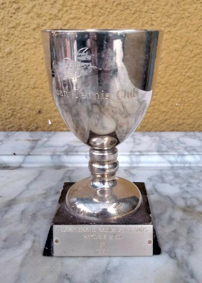 Antiguo Trofeo De Tenis