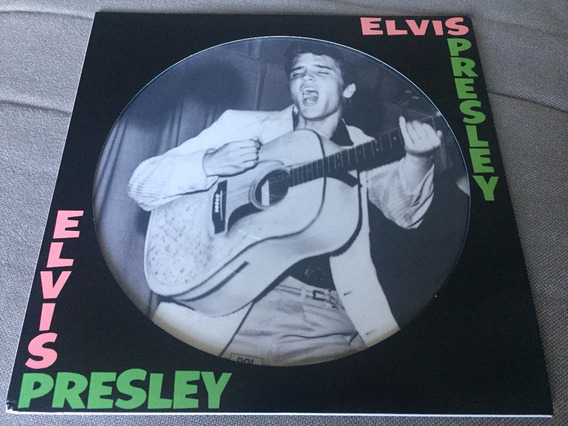 Lp Elvis Presley Picture Disc Importado Impecável Novo