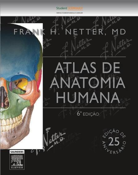 Netter - Atlas De Anatomia Humana 6ª Edição - Novo E Lacrado