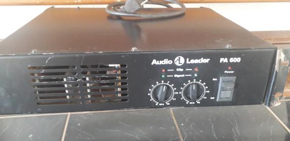 Potência De Som Audio Leader Pa600 Super Nova E Sem Defeito!