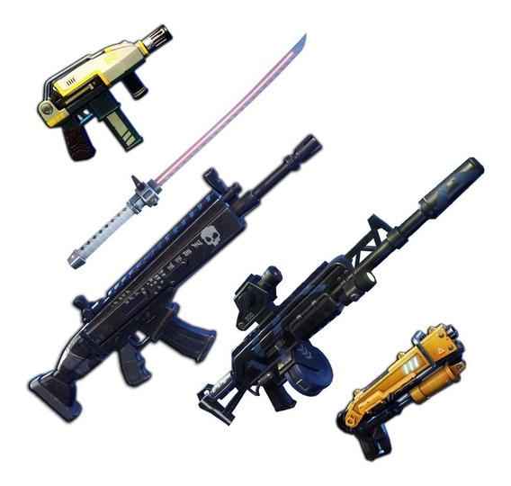 Armas 130 Salvar El Mundo Full Perks